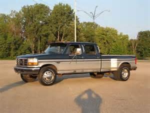 sell used 1996 ford f350 crew cab diesel dually centaurus