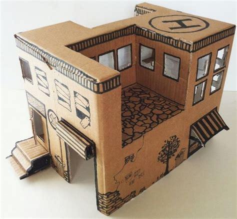 Cardboard Paper Craft - cardboard papercraftsquare free papercraft