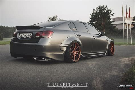 stanced lexus coupe stanced lexus gs300 widebody rear
