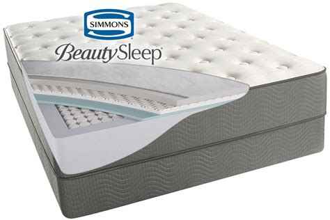 simmons 174 beautysleep 174 beaver creek plush mattress