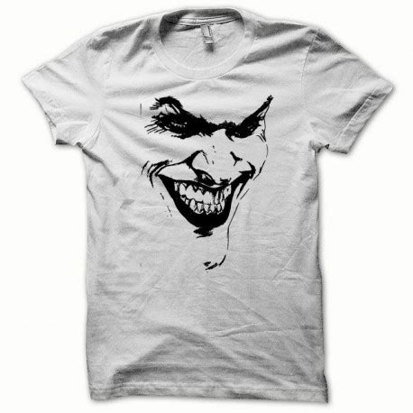 Tshirt Batman White t shirt batman joker basic graph black white