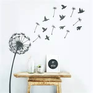Dandelion Wall Art Stickers Dandelion Wall Sticker By Oakdene Designs