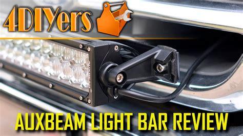 auxbeam light bar review review auxbeam 22 quot light bar