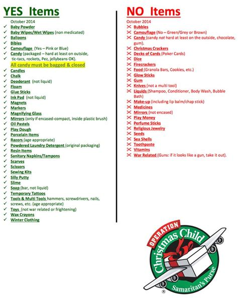 62 best images about operation christmas child on
