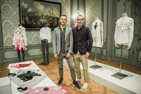Line Launch Viktor Rolf For Hm Is Ready To Out In A Store Near You Second City Style Fashion by Haute Couture Artisans Viktor Rolf Are Ready To Bring