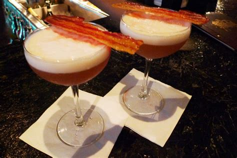 martini bacon bacon martini