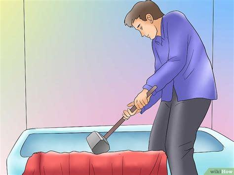 rimuovere vasca da bagno come rimuovere una vasca da bagno in ghisa 5 passaggi