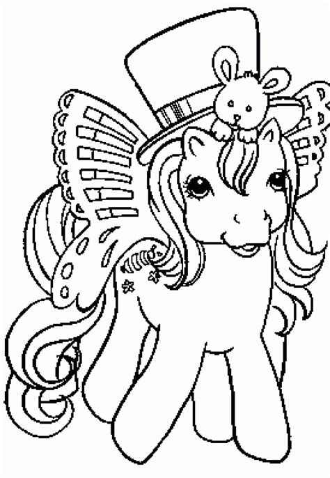 Mylittlepony Coloring Book S my pony printables these are from the 80s 90s