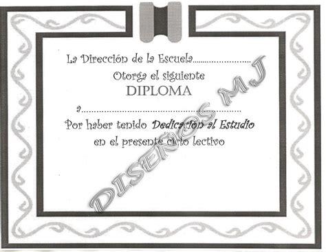 diseo de letras de diploma dise 209 o de diplomas arte dise 241 o mj