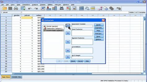 design effect in spss two way anova spss part 1 youtube