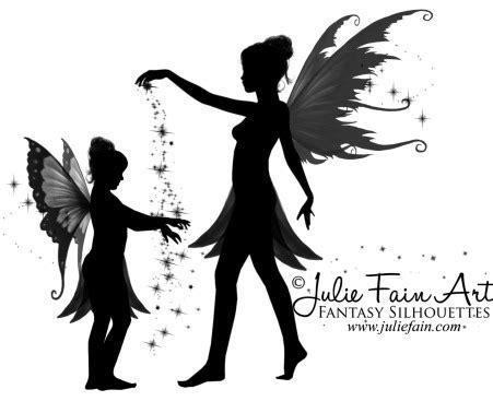 fairy silhouette tattoo designs silhouette design by julie fain