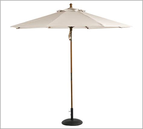 pottery barn market umbrella decor look alikes