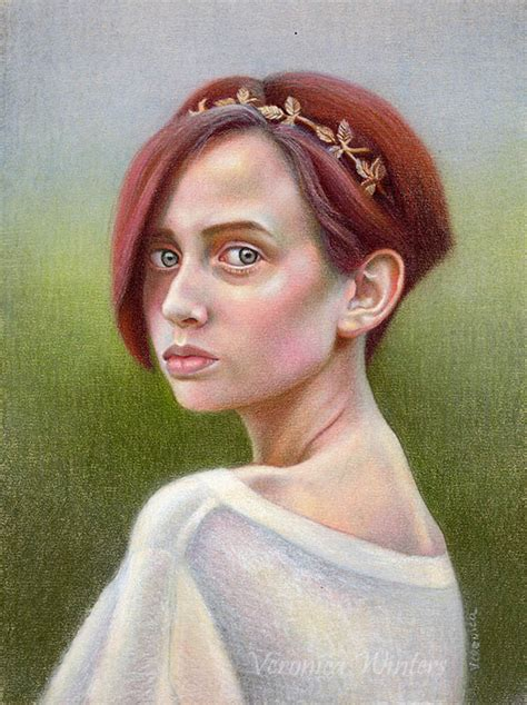 colored pencil portraits colored pencil portrait drawing winters