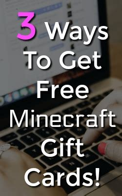 Where Can You Get Minecraft Gift Cards - 3 ways to earn free minecraft gift card codes full time job from home