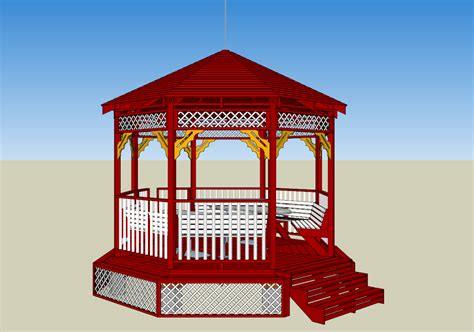 Home Design Software By Chief Architect Free Download by Sample 3d Models Drawings And 8 Square Gazebo From Google