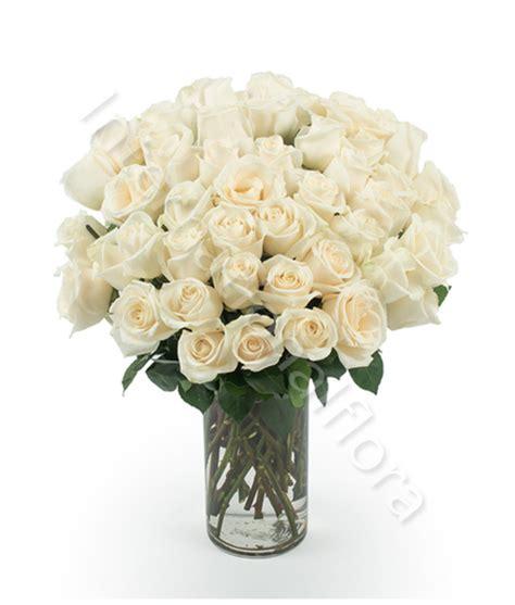 consegna di fiori a domicilio consegna fiori a domicilio bouquet di 50 bianche