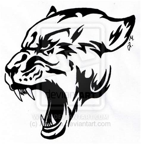 panther tattoo tribal 42 tribal panther ideas