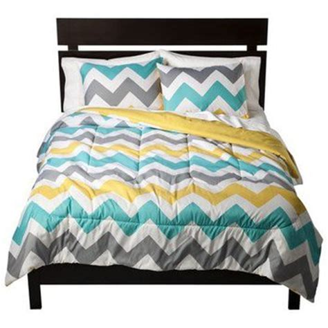 Room Essentials Blend Comforter by Room Essentials 174 Chevron Bedding Set From Target Oh
