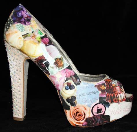 decoupage shoes diy 121 best decoupage images on decoupage ideas