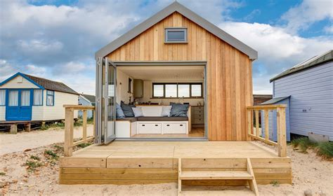 the house mudeford mudeford hut design study ecologic developments