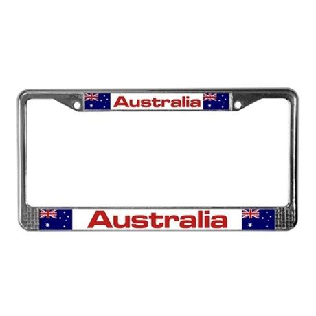 """Australia Flag"" License Plate Frame by thelaststraw"