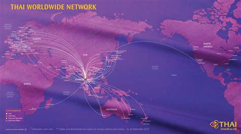 United Baggage International Destination Thai Airways