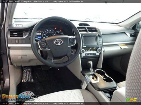 2013 Toyota Camry Interior Ash Interior 2013 Toyota Camry Le Photo 15 Dealerrevs