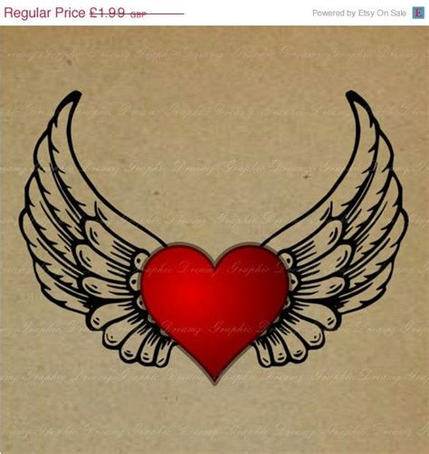 heart with wings tattoo designs 100 best wing s surrounding a memorial