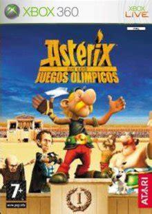 astrix y los juegos videojuego asterix y obelix en los juegos olimpicos pc ps2 x360 nds wii video mania