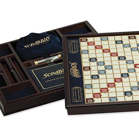 deluxe scrabble tiles winning solutions scrabble deluxe wooden edition with