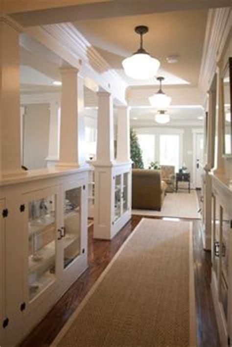 craftsman trim ontario park bungalow blog interior shelves on knee wall quot tapered interior columns craftsman