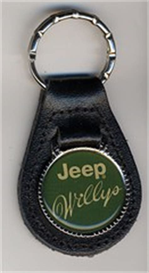 Jeep Ring All Things Jeep Jeep Willys Leather Key Ring Green