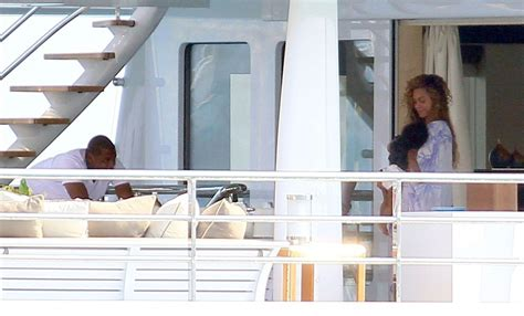 Beyonces On A Yacht by Beyonce Knowles Photos Photos Z And Beyonce On A