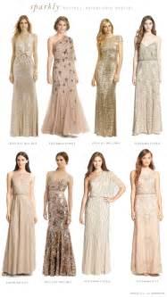 neutral colored dresses neutral bridesmaid dresses