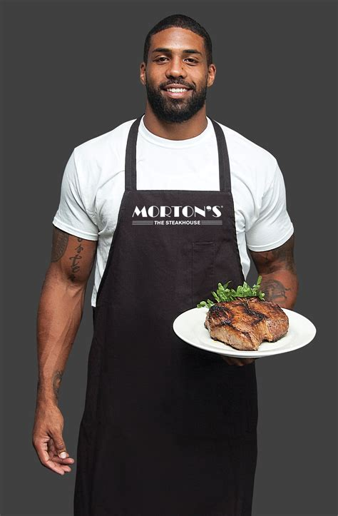 Celebrate Server servers with houston texans arian foster at