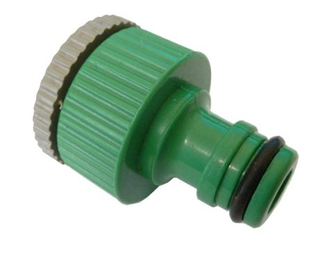 Garden Hose Connector Size by Garden Hose Tap Connector 1 2 Inch 3 4 Inch Bsp
