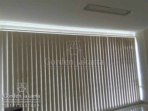 Gordyn Vertical Blinds 70 harga vertical blind sp 6028 blackout sharp point blinds jakarta
