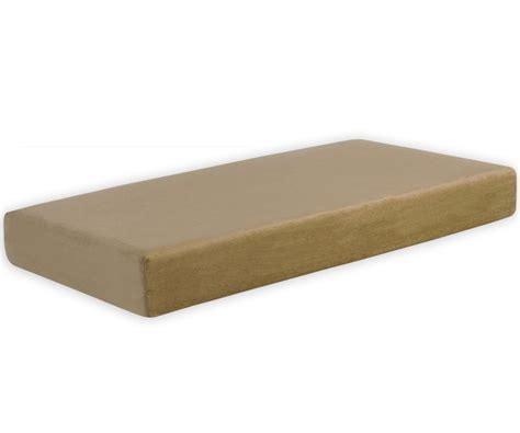 kids pedic 8 quot memory foam twin mattress beige mattresses