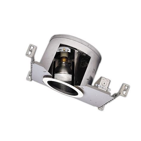 halo 6 in aluminum recessed lighting with sloped ceiling ic air tite housing h47icat the home