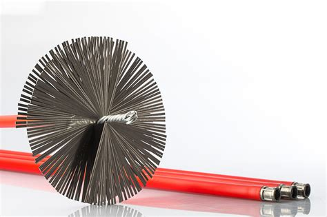 scovolo camino scovoli camino acciaio baretto spazzole