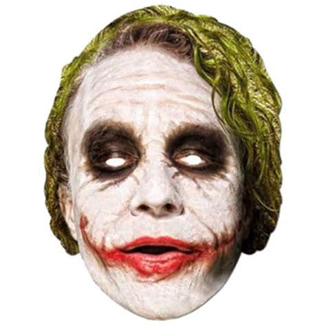 joker mask template batman joker cardboard mask partyrama