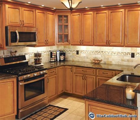 full image for superb honey oak cabinets with dark wood honey colored kitchen cabinets sandstone rope rta