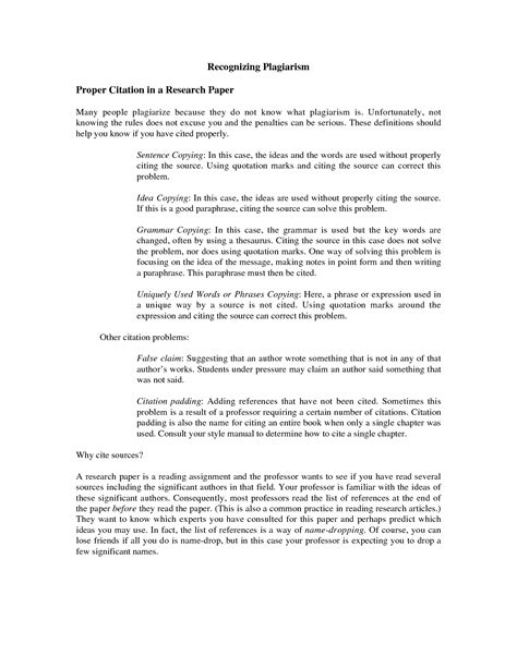how to properly cite a research paper bibliography format for research paper drureport281 web