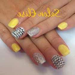Deco Ongle Jaune by Ongles En Gel Page 2 Sur 7 Deco Ongle Fr