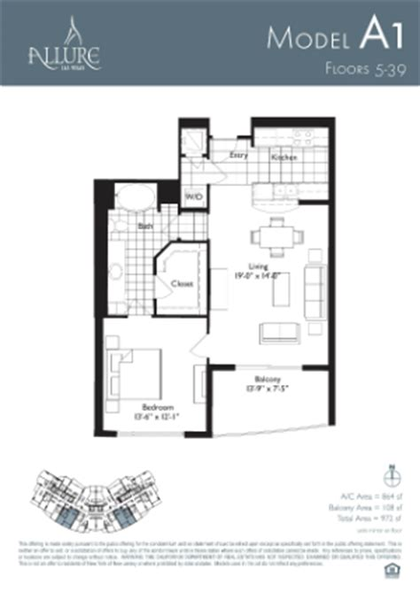 allure las vegas floor plans allure las vegas condos for rent and for sale
