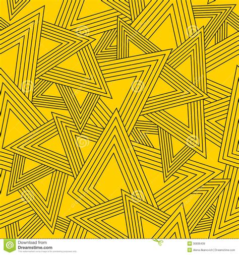 yellow geometric pattern seamless geometric shapes texture abstract pattern vector