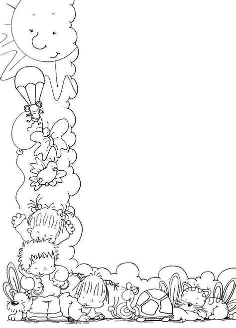 ms de 1000 ideas sobre hojas para colorear de nios en pinterest m 225 s de 1000 ideas sobre marcos para caratulas en pinterest