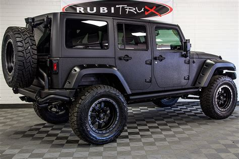 custom black jeep 2017 jeep wrangler rubicon unlimited black line x future