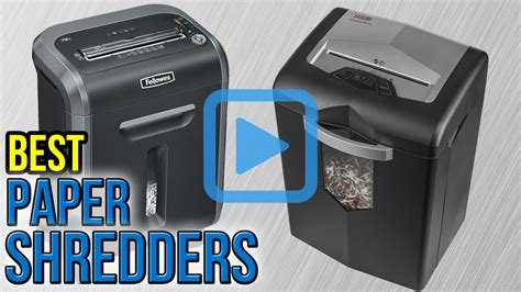 best paper shredder top 10 paper shredders of 2017 video review