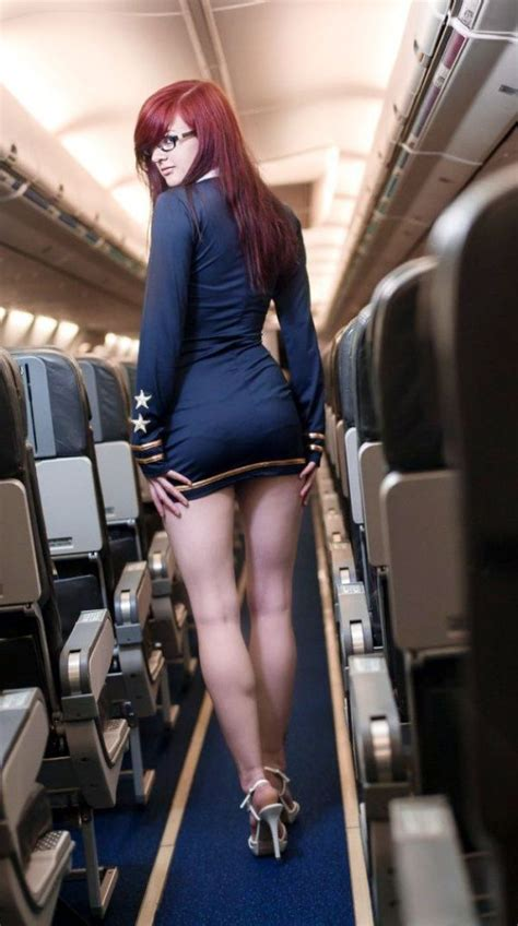 flight attendant sexy mile high club here we come check out these hot flight